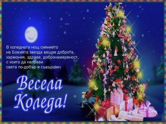 Коледни поздравления